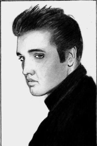 Elvis Presley by Hippy